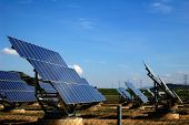 Photovoltaic plant in Spain, green energy