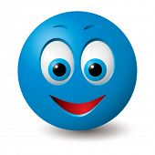 stock photo of smiley face  - Vector - JPG