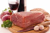 pic of flesh air  - Gammon with Red Wine - JPG