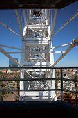 Ferris wheel. carnival Ferris wheel poster