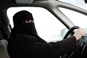 picture of niqab  - Arabic Muslim woman with veil and scarf  - JPG