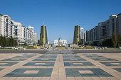 image of treasury  - View of Nurzhol Boulevard  - JPG