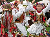 Polish Dancers At Canadian Wine Festival