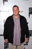 LOS ANGELES - NOV 27:  Billy Gardell arrives at the 'Certainty' Los Angeles premiere at Laemmle Musi