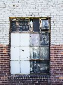 Gritty Warehouse Window