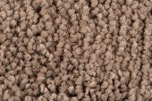 picture of linoleum  - Closeup detail of brown carpet texture background - JPG