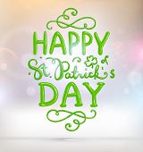 foto of st patty  - Saint Patricks Day Vector Background - JPG
