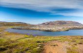 Selvallavatn, a vulcanic lake in Snaefellsnes peninsula, Iceland. poster