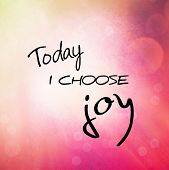 pic of joy  - Inspirational Typographic Quote  - JPG