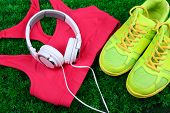 stock photo of shoe  - Sport clothes - JPG