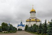pic of 15 year old  - The Assumption Zilantov convent is the oldest surviving male monasteries in the Volga region was founded by John IV the terrible on the day and year of Kazan October 15 1552 - JPG