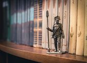 stock photo of tin man  - Tin Soldier - JPG