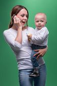 picture of toy phone  - Half - JPG