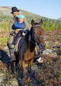 image of nomads  - Nomadic Tsaatan or Dukha  - JPG