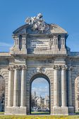 stock photo of neo-classic  - The Alcala Gate  - JPG