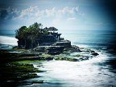 pic of tanah  - the Tanah Lot temple - JPG