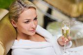 stock photo of sparkling wine  - people - JPG