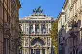pic of supreme court  - The Supreme Court of Cassation is the highest court of appeal or court of last resort in Italy - JPG