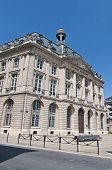 Bourse Maritime Building At Bordeaux, France poster