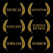 picture of storyboard  - Laurel seals with different film genres 6 - JPG