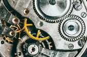 pic of mechanical engineering  - Clockwork Background - JPG