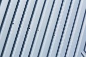 image of oblique  - Silver metal sheet with oblique pattern - JPG