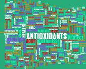 image of oxidation  - Antioxidants Concept or Anti Oxidants or Antioxidant - JPG