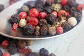 image of peppercorns  - Peppercorn Blend - JPG
