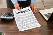 stock photo of lawyer  - Close - JPG