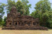 pic of hindu  - Hindu sanctuary situated name Tamuen stone castle under sunlight - JPG