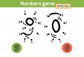stock photo of zero  - Numbers game  - JPG