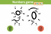 foto of zero  - Numbers game  - JPG