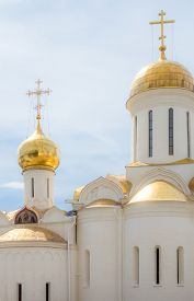 foto of trinity  - Trinity Cathedral in the Trinity Lavra of St - JPG