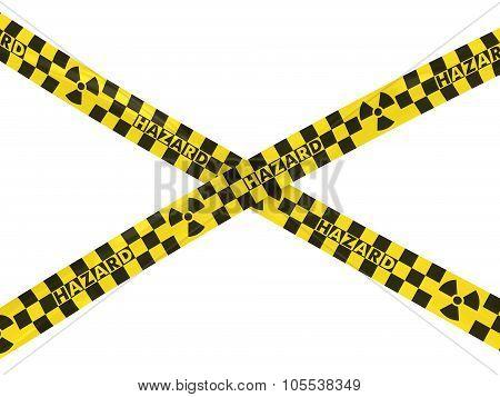 Yellow And Black Checkered Radiation