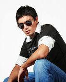 Постер, плакат: Молодой человек мода стиль