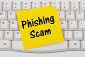 Phishing Scam poster