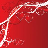 picture of heart valentines  - valentines day background  - JPG