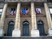 image of liberte  - palais de justice home of france supreme court in paris  - JPG