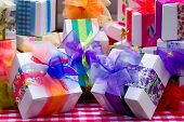 foto of gift wrapped  - Gifts - JPG