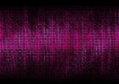 image of pixel  - Digital equalizer color pixels amplitude level display disco effect - JPG
