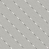 Zig Zag Stripes Seamless Pattern. Diagonal Vector Chevron Texture. Black And White Thin Lines, Strip poster