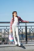 Girl Urban Background. Activities For Teenagers. Vacation And Leisure. Weekend Events For Kids. City poster