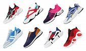 New Fitness Sneakers Set, Fashion Shoes For Training Running Shoe. Sport Shoes Set poster