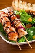 Grilled Chicken Kebabs