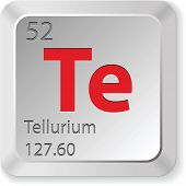 Постер, плакат: теллур элемент
