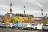 picture of murmansk  - Combined heat and power in the city of Apatity - JPG