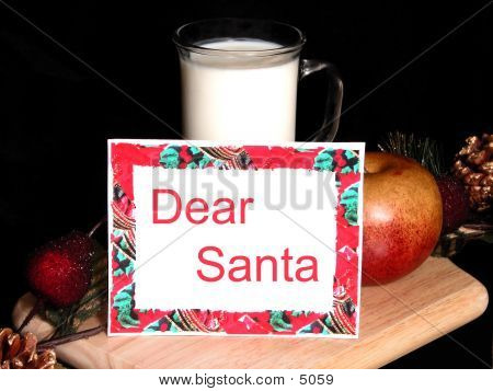 Dear Santa poster