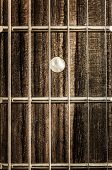 stock photo of fret  - Detail close - JPG