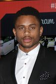 LOS ANGELES - FEB 25:  Nnamdi Asomugha at the 2nd Annual ICON MANN Power Dinner at Peninsula Hotel o