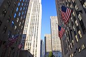 foto of rockefeller  - Stock image of Rockefeller Center New York USA - JPG